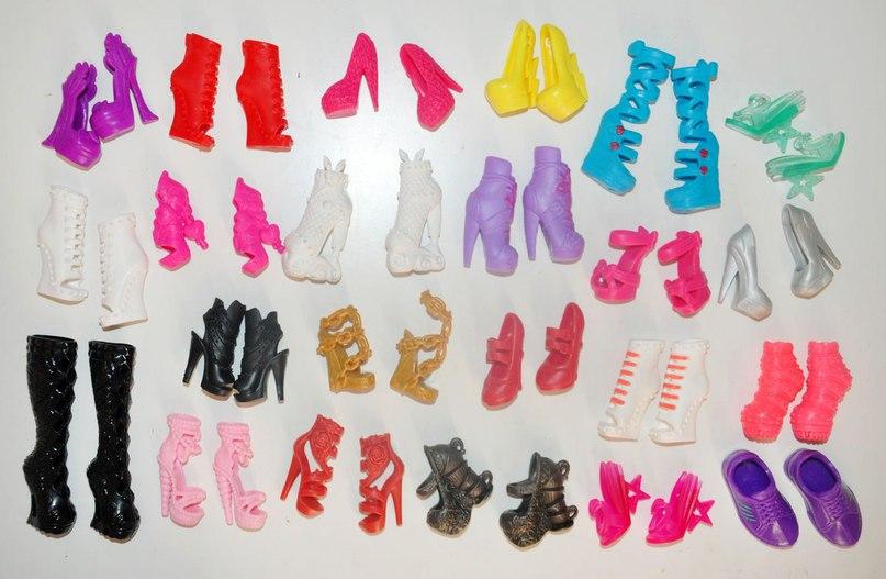 Как сделать обувь на куклу эвер афтер  345